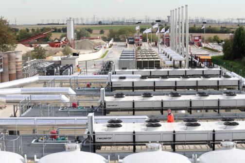 usine de valorisation du méthane